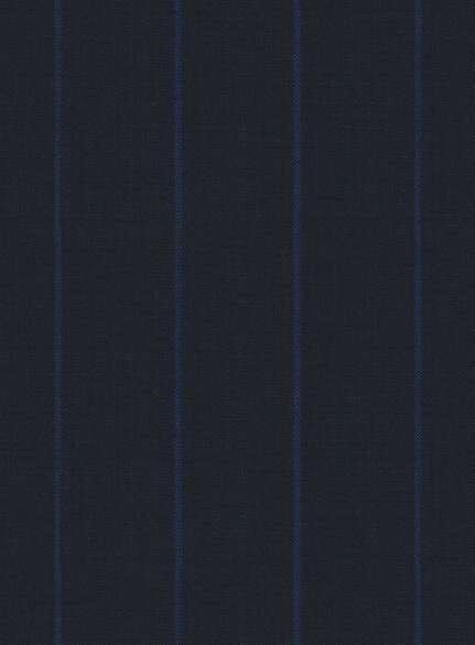 Napolean Rodrio Blue Wool Suit