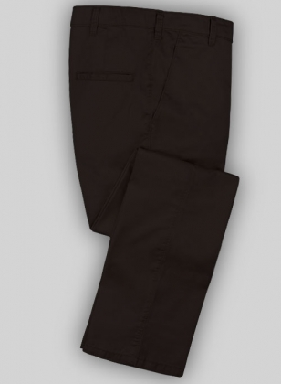 Washed Brown Fine Twill Pants