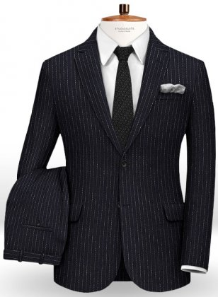 Rapture Stripe Wool Suit