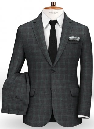 Caviar Mont Gray Wool Suit