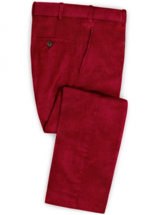 Berry Velvet Pants