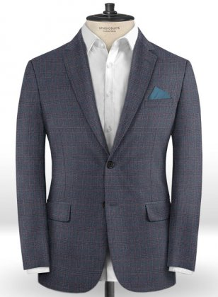 Caccioppoli Dapper Dandy Bella Blue Jacket