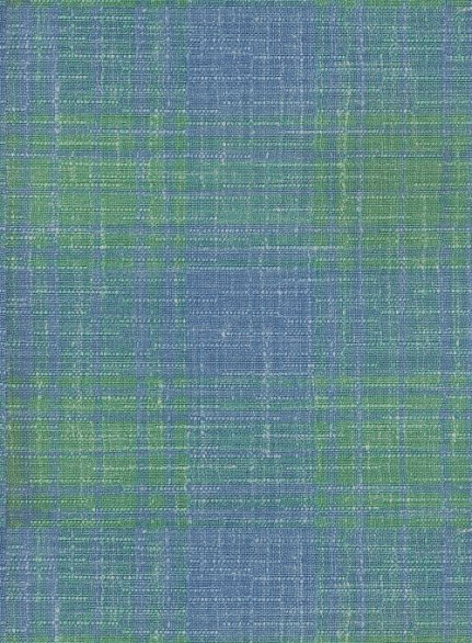 Italian Murano Blue Green Checks Wool Pants