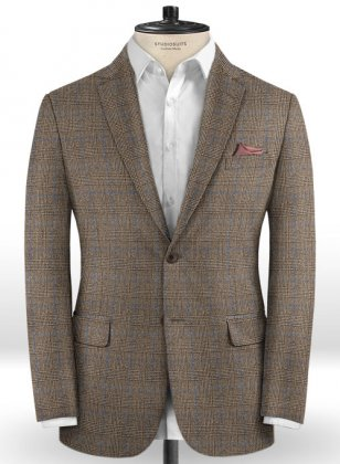 Caccioppoli Dapper Dandy Dicanno Brown Jacket