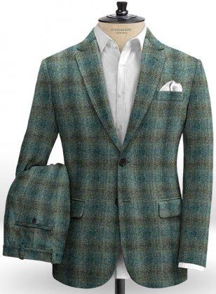 Harris Tweed Scot Green Suit