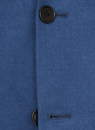 Light Weight Spring Blue Tweed Suit