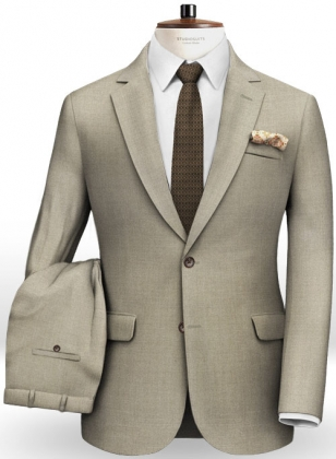 Italian Wool Silk Zuro Suit