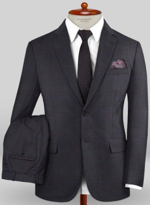 Caccioppoli Sun Dream Folli Gray Suit