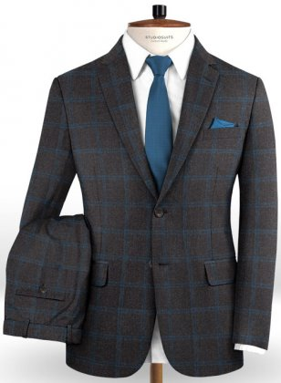 Italian Wool Cashmere Bindo Suit