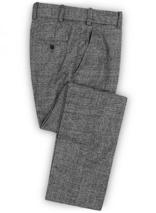 Vintage Glasgow Gray Tweed Pants