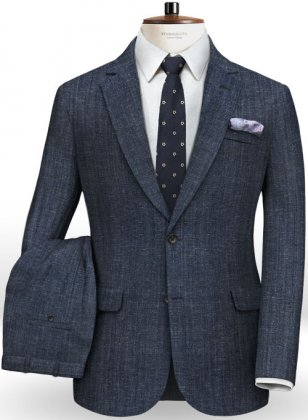 Italian Wool Linen Bella Suit
