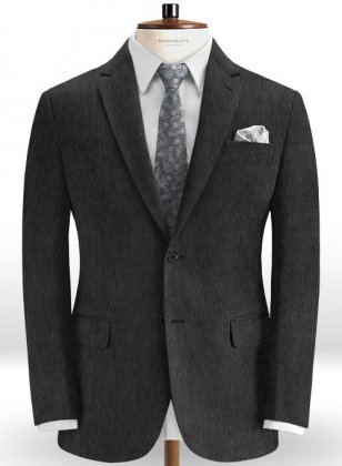 Dark Gray Corduroy Jacket
