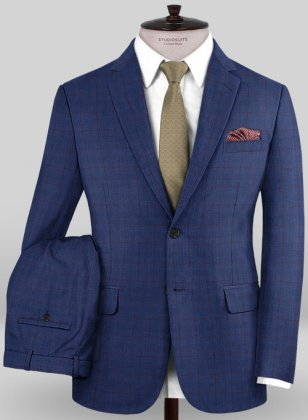 Caccioppoli Sun Dream Garlo Blue Suit