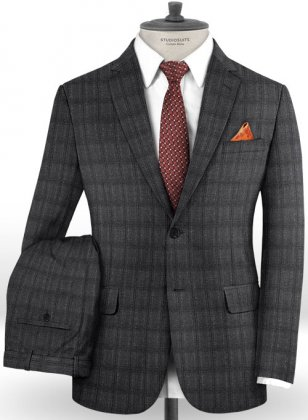 Reda Froppo Gray Wool Suit