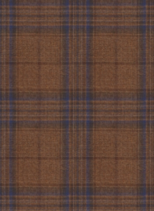 Napolean Tartan Brown Wool Suit