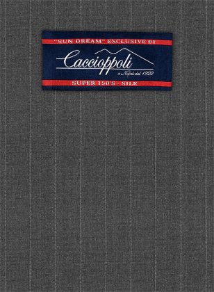 Caccioppoli Sun Dream Tino Charcoal Suit