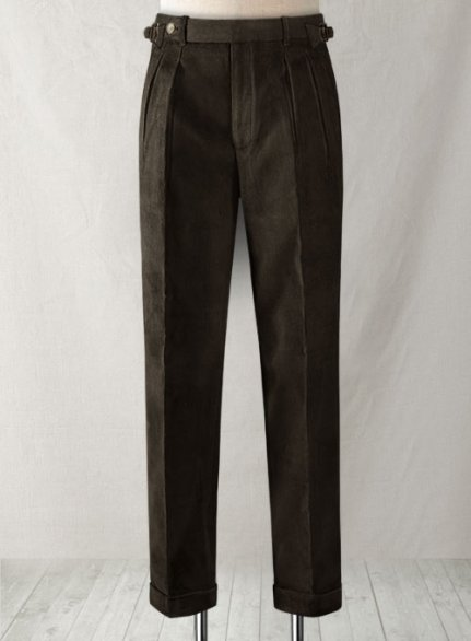 Rich Brown Colonel Corduroy Trousers
