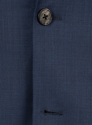Napolean Dino Blue Wool Suit