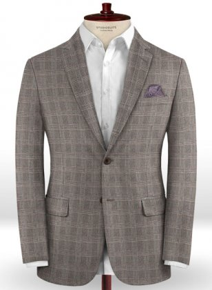 Caccioppoli Dapper Dandy Aronio Gray Jacket