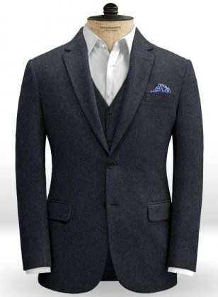 Oxford Blue Tweed Jacket