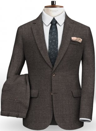 Italian Wool Silk Cappo Suit