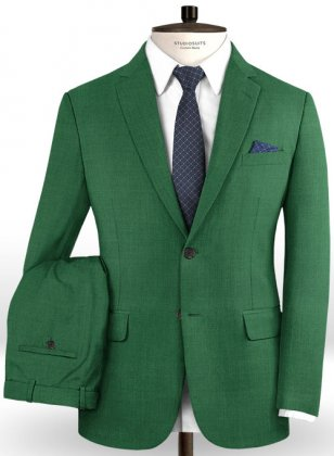 Fern Green Wool Suit