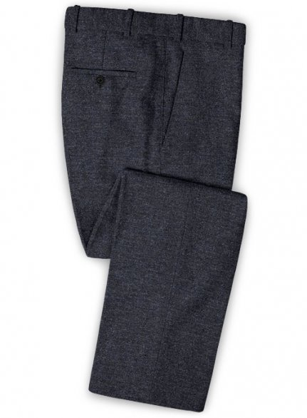 Burma Blue Light Weight Tweed Pants