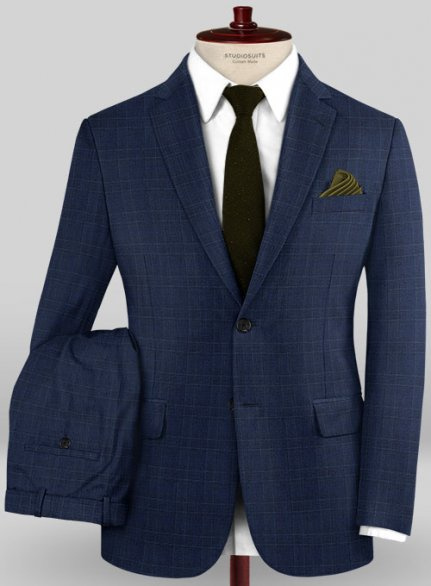 Caccioppoli Wool Stretch Siglia Suit
