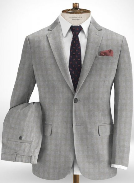 Cotton Gello Gray Suit