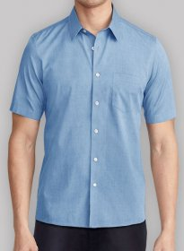 50\'s Cotton Dress Shirts - Half Sleeves