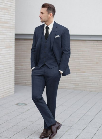 Zegna Trofeo Royal Blue Wool Suit