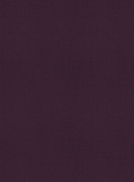 Scabal Dark Purple wool Suit