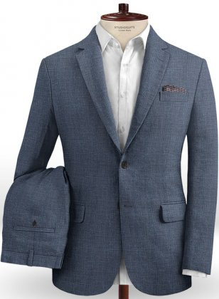 Solbiati Linen Wool Silk Allure Suit