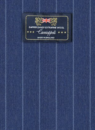 Caccioppoli Dapper Dandy Parbo Blue Suit