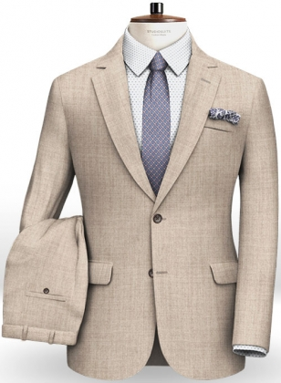 Italian Flannel Empire Canvas Wool Suit