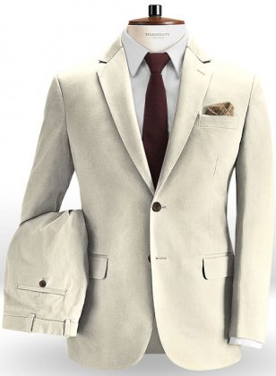 Light Beige Chino Suit