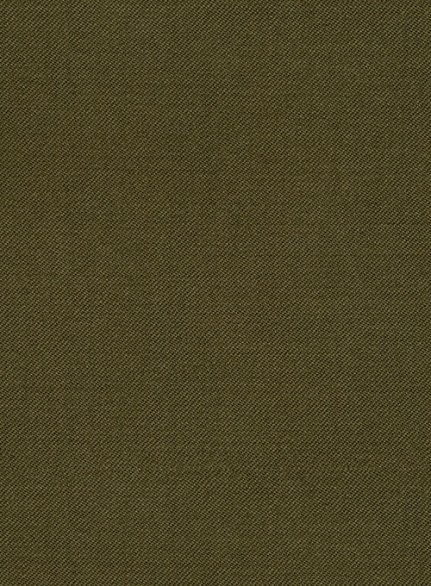 Reda Army Green Pure Wool Suit