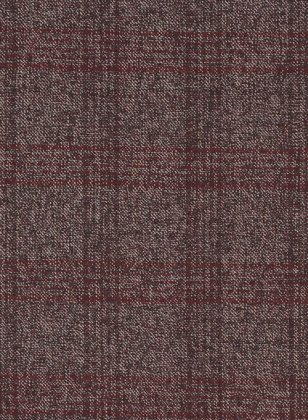 Saga Wine Feather Tweed Suit