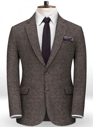 Italian Tweed Navi Jacket
