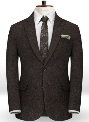 Italian Tweed Ramee Jacket