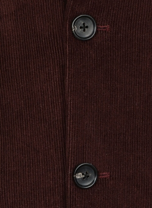 Wine Corduroy Jacket