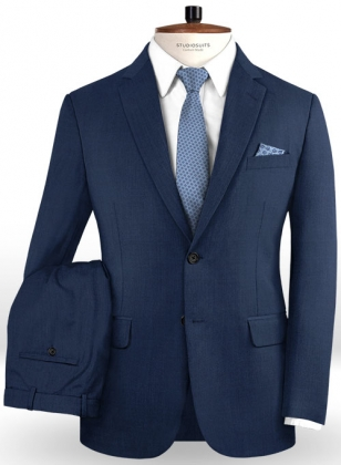 Napolean Casa Blue Wool Suit