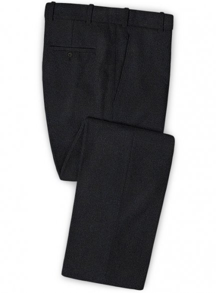 Midnight Heavy Tweed Pants