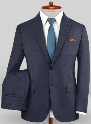 Caccioppoli Sun Dream Zorati Blue Suit