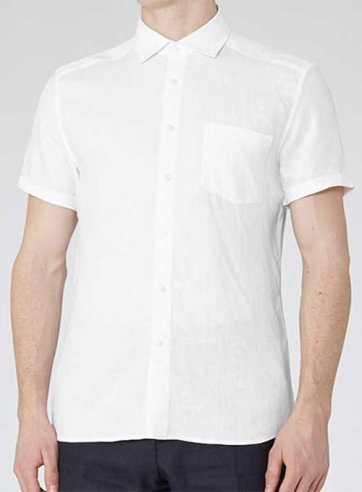 Linen Shirt - Half Sleeves - Pre Set Sizes - Quick Order