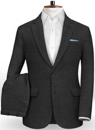 Italian Wool Linen Canvo Suit