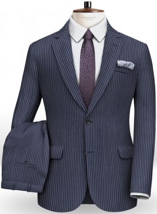 Italian Wool Cotton Lazzo Suit