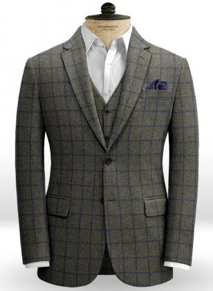 Ford Gray Blue Tweed Jacket
