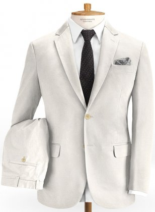 Heavy Light Beige Chino Suit