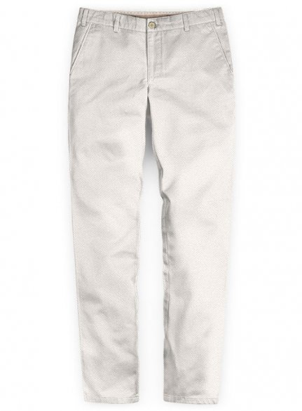 Washed Heavy Light Beige Chinos